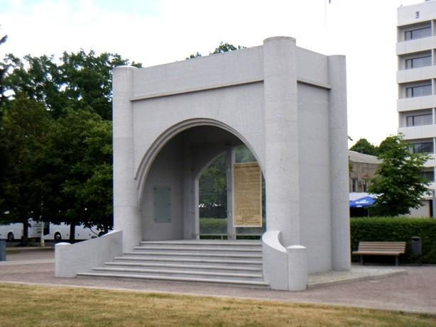 Monument to declaring the independence of the Republic of Estonia