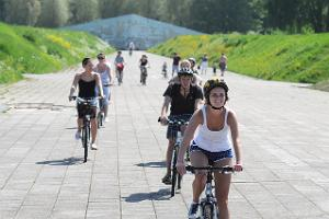 Cycling in Tallinn