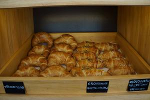 Pastries and croissants