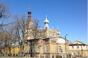Estonian Apostolic Orthodox Pärnu Transformation of Our Lord Church