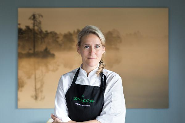 Head chef Angelica Udeküll