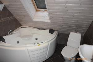 Bathroom on the first floor