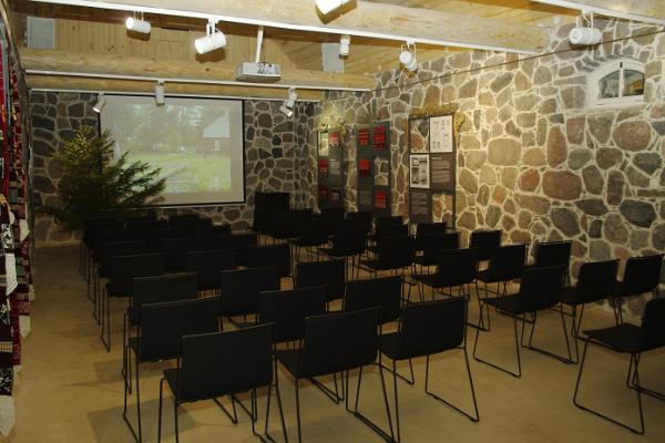 Seminar room at Setu farm