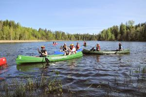 Canoeing on the Kooraste lakes - an adventure for true nature enthusiasts