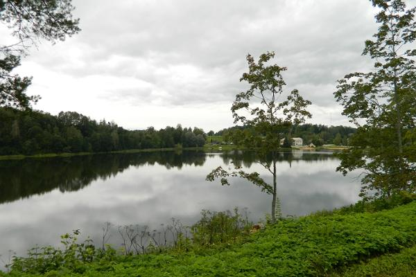 Lake Suurjärv in Rõuge