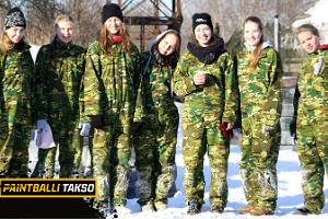 Paintball is for children and adults, for summer or for winter!