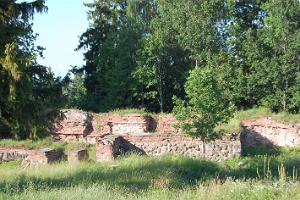 12th Century Ruins of the Otepää Bishop