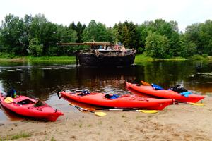 Kayaking on the Emajõgi River - how does the city look from the water?
