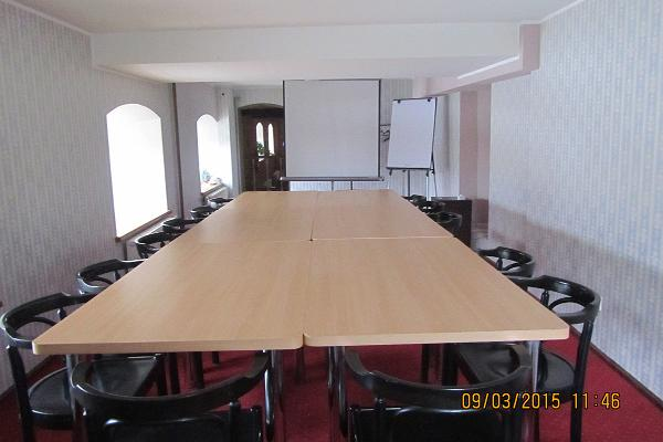 Seminal hall at Hotel Veski-Silla