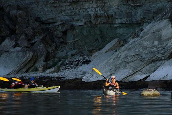 Kayaking on Pakri Islands