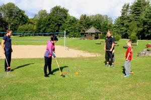 Sports games at UusKalda Sports and Holiday Village - croquet