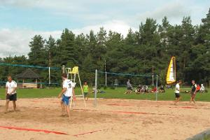 Sports games at UusKalda Sports and Holiday Village - beach volleyball competition