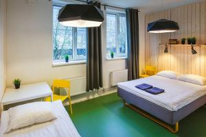 Comfortable family rooms for families of 3 and 4