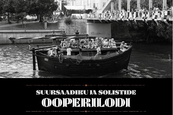 Tartu City Day Opera Barge of the Ambassador and the Soloists