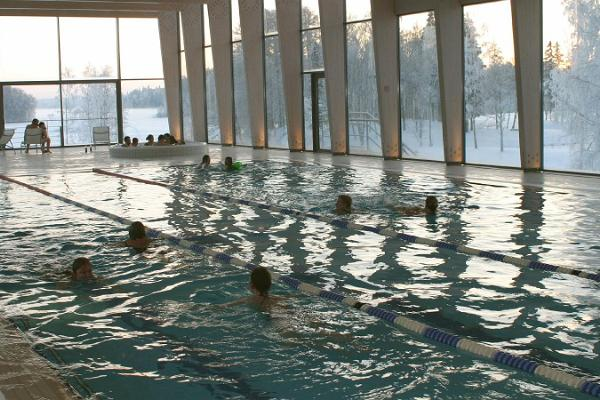 Swimming Pool of Pühajärve Spa & Holiday Resort