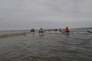 Kayaking on Pusku Bay