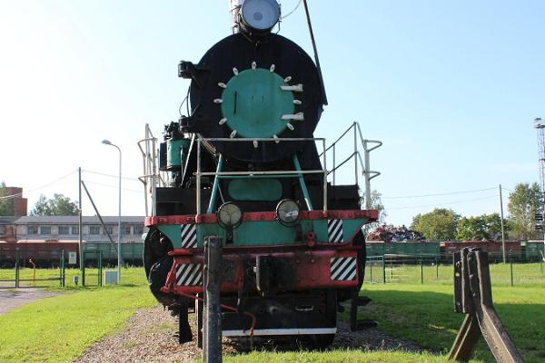 Railway Monument Engine