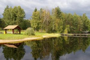 Matsimäe Pühajärv recreational area and campsite