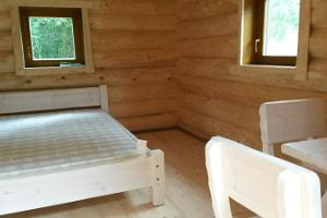 There is enough space and light for two in the granary