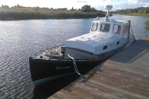 Ferry trip in Pärnu with the historic packet boat Johanna