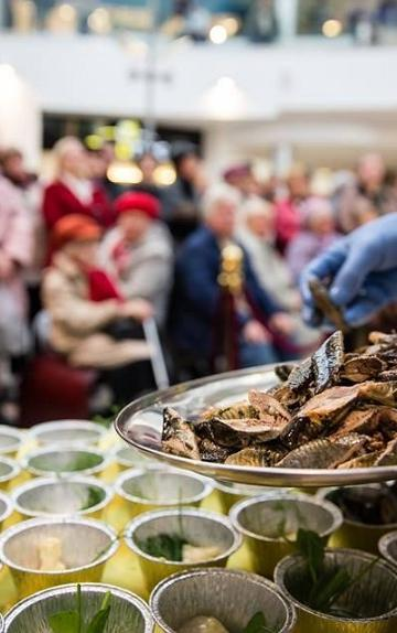 Lamprey Festival 'Silm Suhu' in the restaurants of Narva and Narva-Jõesuu