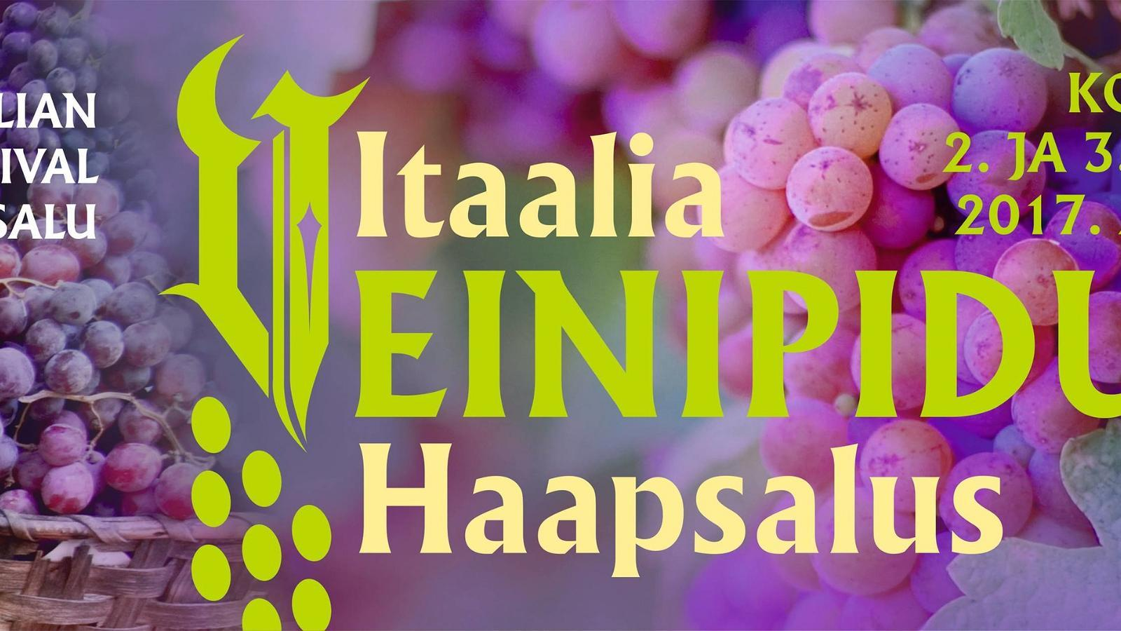 Italian wine party in Haapsalu 2017