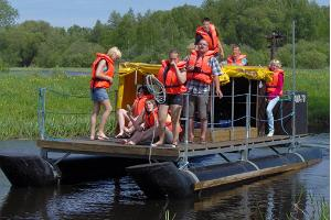 Rafting fun for schools
