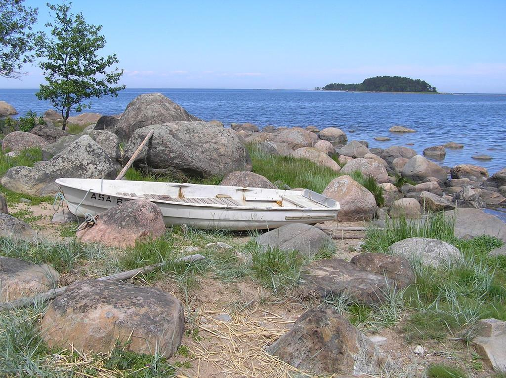 View from Käsmu to the Kuradi Island (Devil Island)