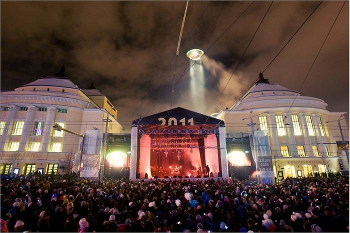 15 000 people attended the opening ceremony of European Capital of Culture Tallinn 2011