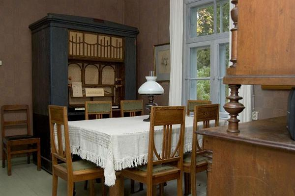 Dining room at the Mart Saar Museum