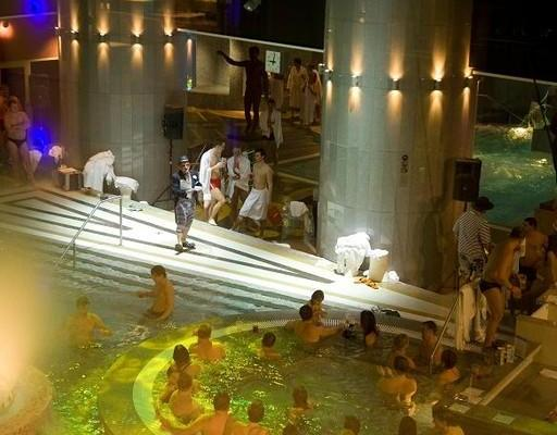 Special event in Aqua Spa