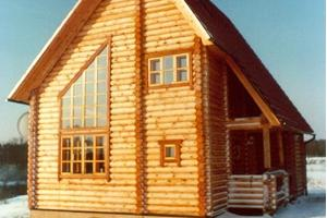 Holiday House of the Kalda Tourist Farm in the winter