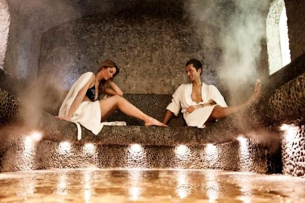 Strand Spa & Conference Hotel, steam sauna