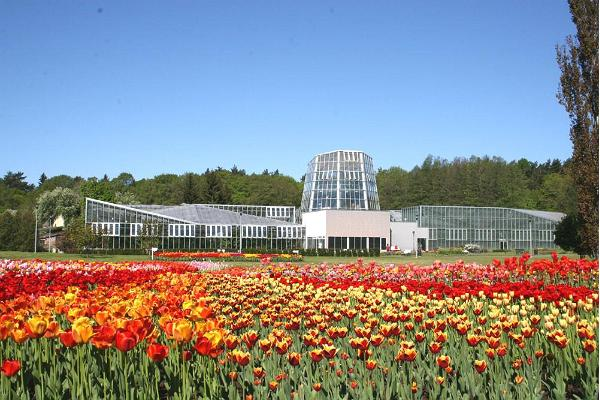 Greenhouses of the Tallinn Botanic Garden