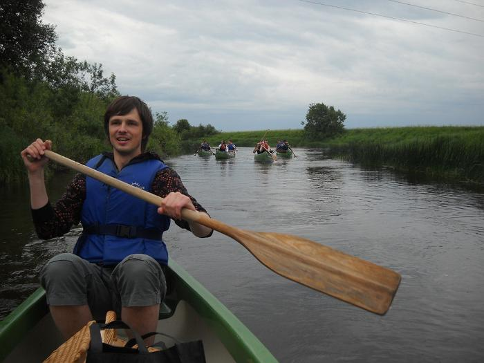 Canoeing on your own in Matsalu National Park