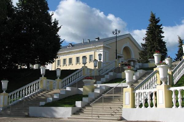 Sillamäe (town) – cultural centre and a stairway to the beach