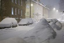 Record snow in Tallinn!