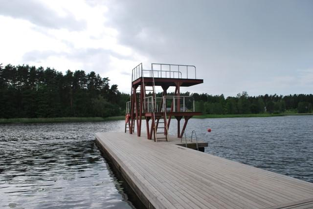 Kubija beach diving tower