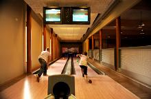 Das Bowling im Feriendorf Roosta