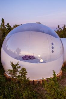 Erstes Bubble-Hotel in Estland erffnet