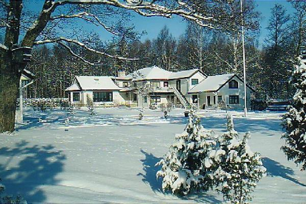 Merekalda Guesthouse in Winter