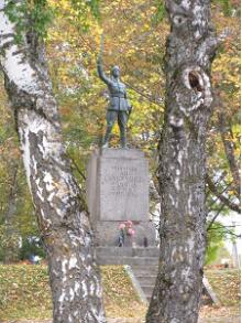 War of Independence Memorial in Rõuge