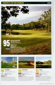 Estonian Golf & Country Club celebrates making it into Golf World's top 100 European golf courses