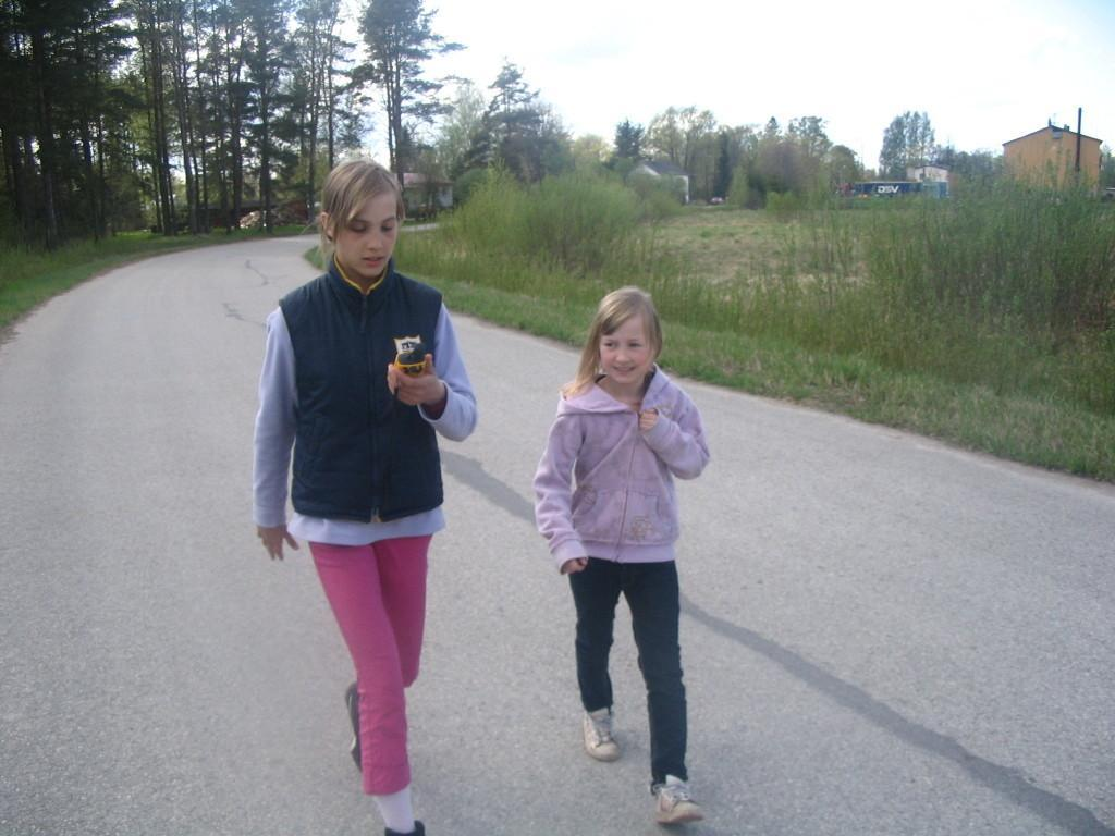 GPS adventures are also suitable for children.