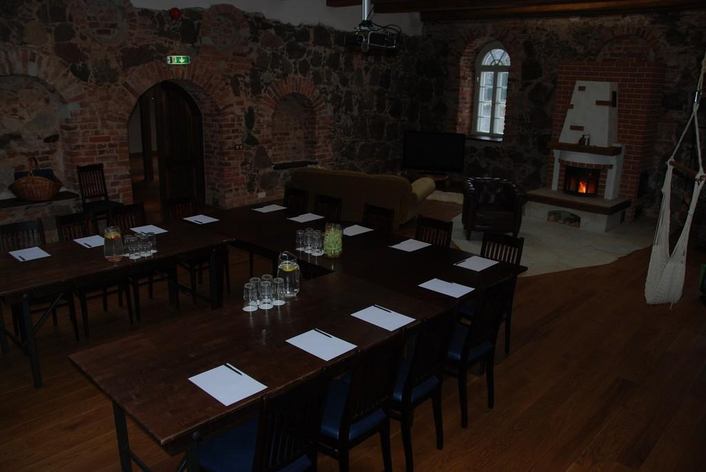 Seminar Room at the Mooste Distillery