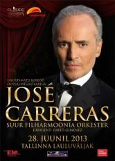Tallinn Star Weekend, Jose Carreras & Orkester