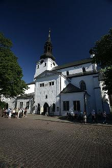 The Cathedral of Saint Mary the Virgin in Tallinn (also known as Dome church)