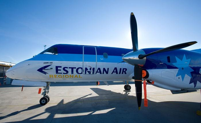 Estonian Air lennuk