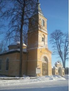 St Zachariah's and St Elizabeth's Orthodox Church in Räpina