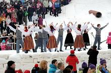 Prnu Ice Festival  Estonias biggest winter family festival.